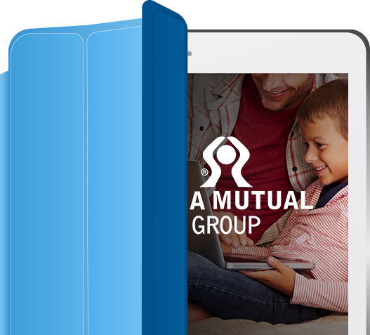 CUNA Mutual Group on tablet