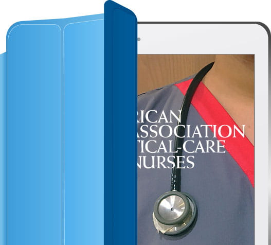 AACN on tablet
