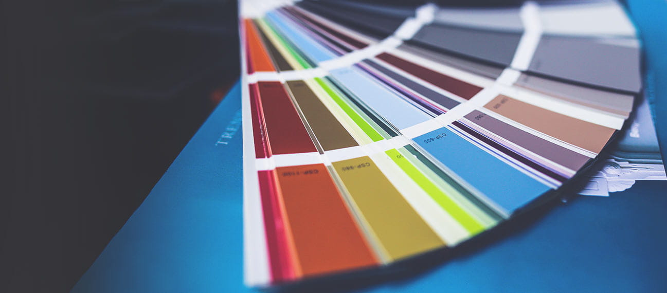 color selection samples