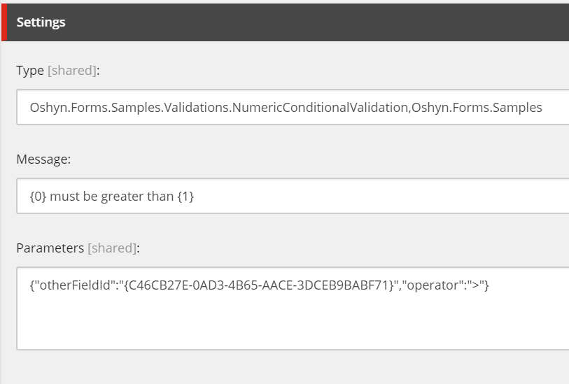 Validation item values in Sitecore