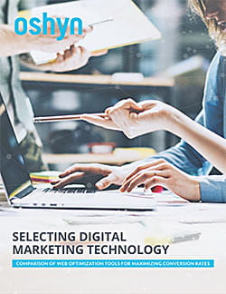 Selecting Digital Marketing Technology ebook cover