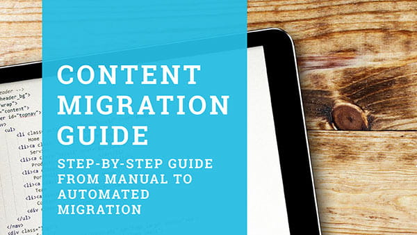 Content Migration Guide ebook cover