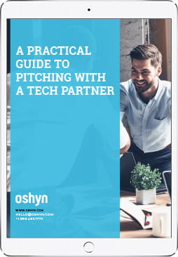 A Practical Guide to Pitching with a Tech Partner ebook on iPad