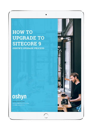 How to Upgrade to Sitecore 9 ebook cover
