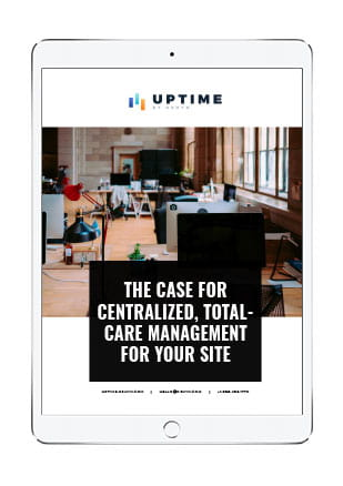 The Case for Centralized, Total-Care Management for Your Site ebook cover on iPad